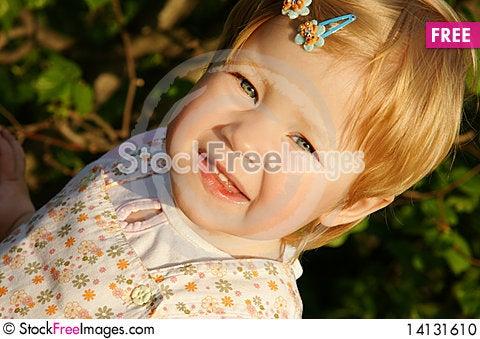 Free Cute Girl Stock Photo - 14131610