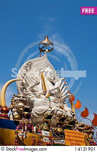 Free Guan Yin Goddess Statue Stock Image - 14131901