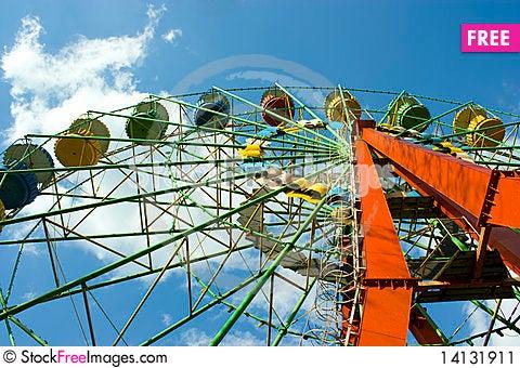 Free Ferris Wheel Stock Image - 14131911