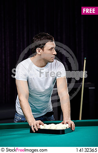 Free The Young Player Royalty Free Stock Photo - 14132365