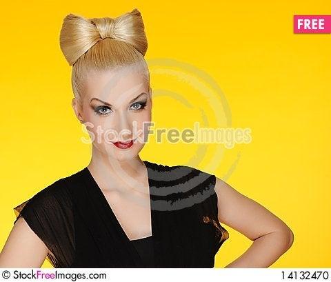 Free Portrait Of A Beautiful Woman Stock Photo - 14132470