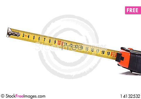 Free Centimeter Tape Measure Stock Photography - 14132532
