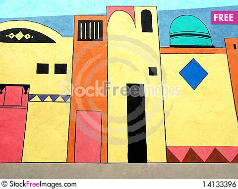 Free Wall Painting Royalty Free Stock Image - 14133396