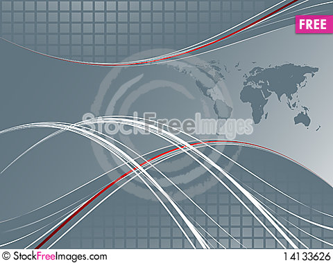 Free Abstract Modern Template Royalty Free Stock Image - 14133626