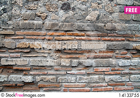 Free Brick And Stone Wall Royalty Free Stock Photo - 14133755