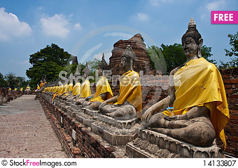 Free The Buddha Royalty Free Stock Photography - 14133807