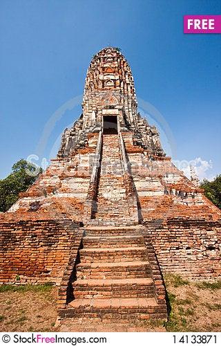 Free Wat Chai Wattanaram Stock Image - 14133871