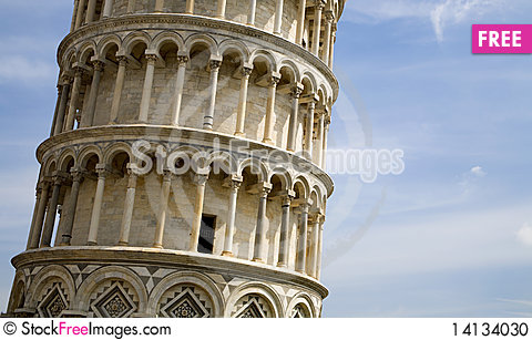 Free Pisa - Facade Of Hanging Tower Stock Photo - 14134030