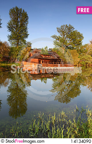 Free Historic Watermill Stock Photo - 14134090