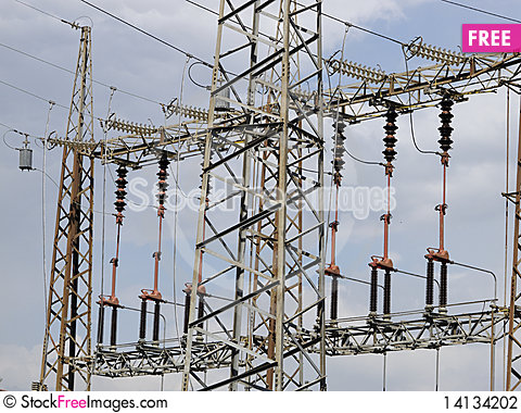 Free Electrical Tower Stock Photography - 14134202