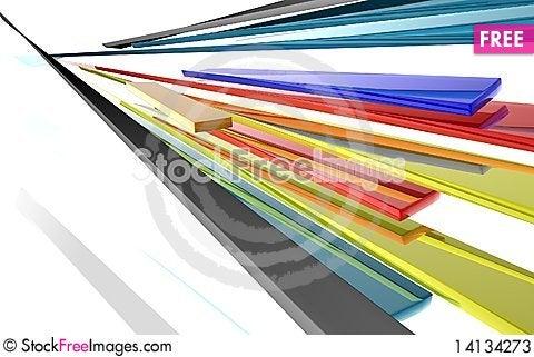 Free Abstract Ribbons Stock Photos - 14134273
