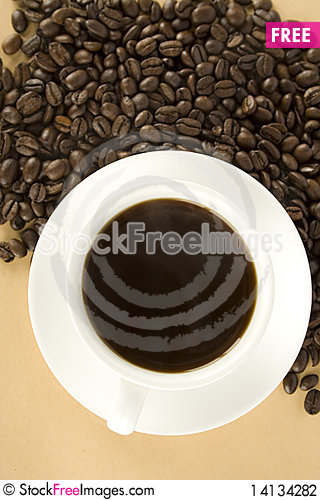 Free Black Coffee Stock Photography - 14134282