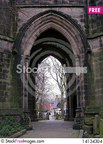 Free Church Arch Stock Images - 14134304