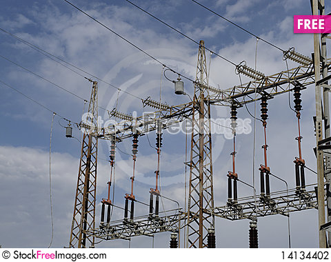Free Electrical Tower Stock Photography - 14134402