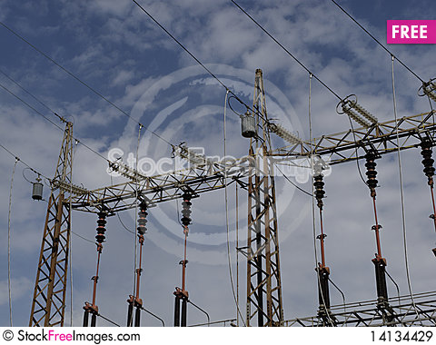 Free Electrical Tower Royalty Free Stock Images - 14134429
