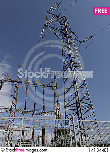 Free Electrical Tower Stock Image - 14134481