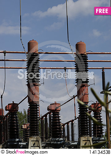 Free Electrical Tower Royalty Free Stock Photos - 14134538