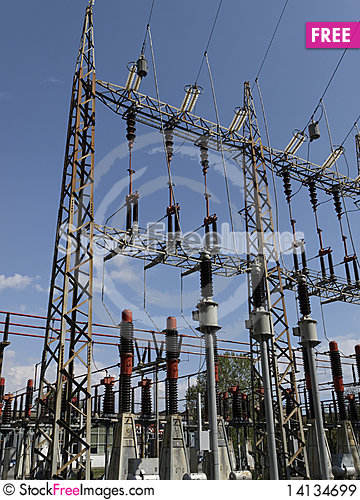 Free Electrical Tower Royalty Free Stock Images - 14134699