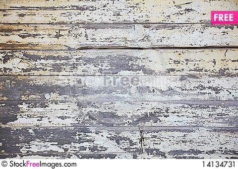 Free Grunge Wooden Background. Stock Image - 14134731