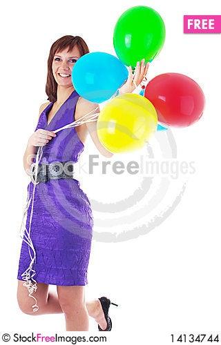 Free Beautiful Woman Stock Images - 14134744