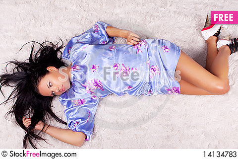 Free Woman Wearing Stylish Clothes Stock Photos - 14134783