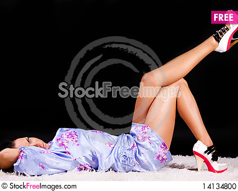 Free Young Woman Dreaming Stock Photo - 14134800