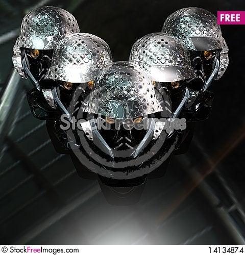 Free Cyborg Head Stock Images - 14134874