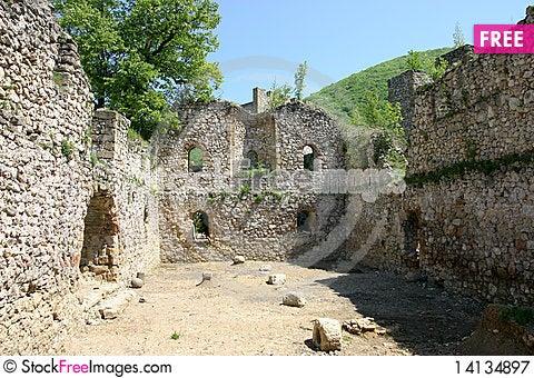 Free Manasija Castle Royalty Free Stock Photography - 14134897