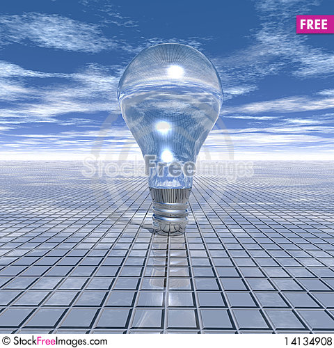 Free Electrical Light Bulb Royalty Free Stock Photos - 14134908