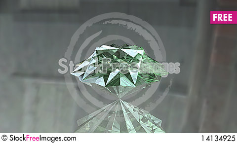 Free Cool Bright Diamond Brilliant Royalty Free Stock Photo - 14134925