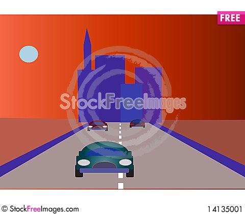 Free City Stock Image - 14135001