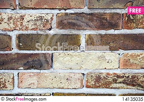 Free Grunge Brick Wall Royalty Free Stock Photo - 14135035
