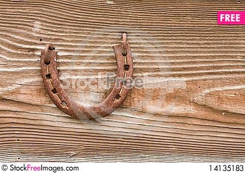 Free Rusty Horseshoe Stock Photos - 14135183