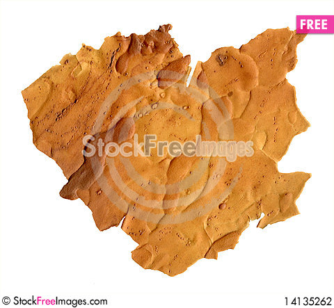 Free Flat Young Peel Of Pine Bark Stock Photography - 14135262