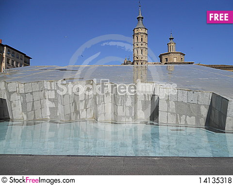 Free Zaragoza - Spain Royalty Free Stock Photos - 14135318