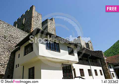 Free Serbian Monastery Stock Photography - 14135362