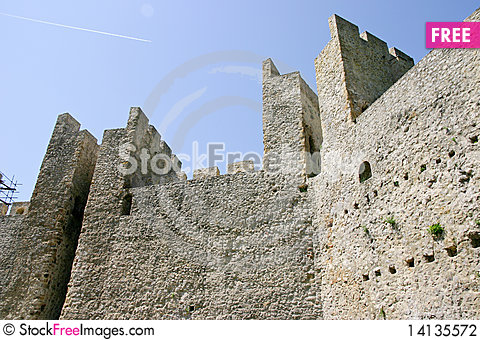 Free Manasija Castle Stock Photography - 14135572
