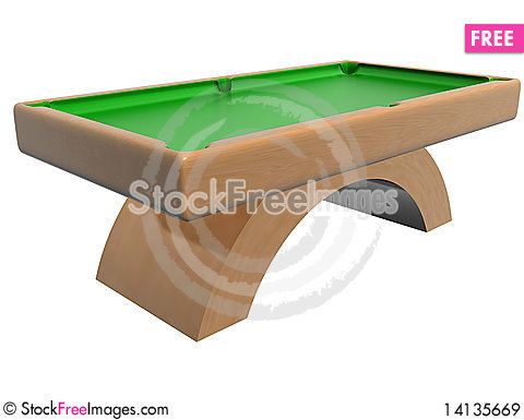 Free Billiard Table Royalty Free Stock Images - 14135669