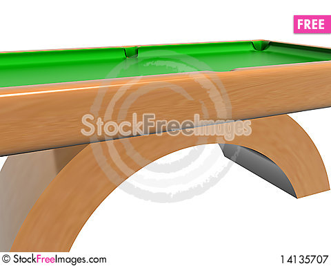 Free Billiard Table Royalty Free Stock Photography - 14135707