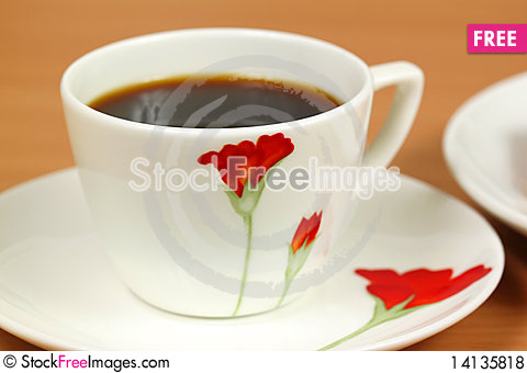 Free Cup Of Coffee Royalty Free Stock Photos - 14135818