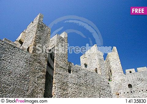 Free Manasija Castle Stock Photo - 14135830