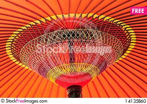 Free Japanese Umbrella Stock Photo - 14135860