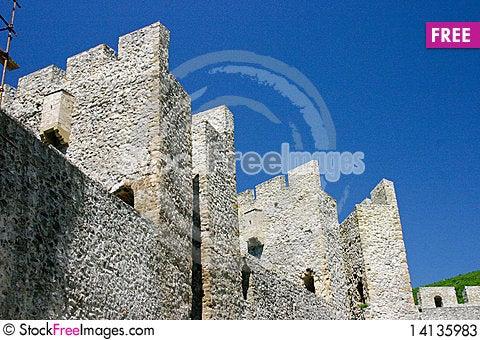 Free Manasija Castle Stock Photos - 14135983