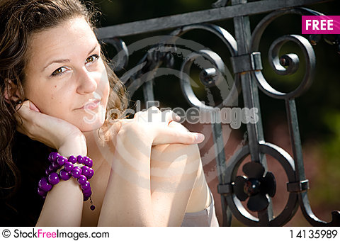 Free Lovely Retro Girl Royalty Free Stock Images - 14135989