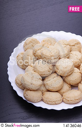 Free Cookies Royalty Free Stock Image - 14136046