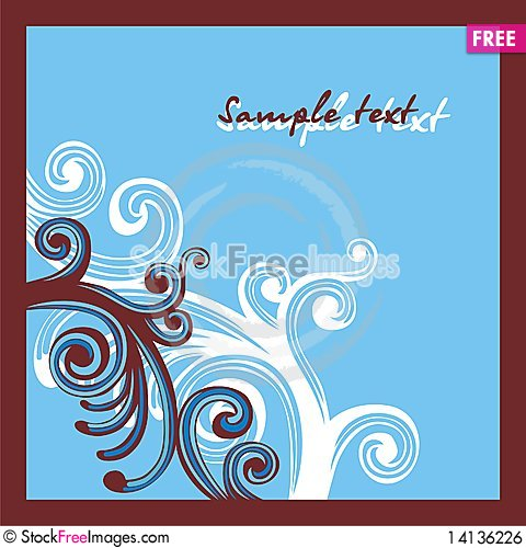 Free Postcard For Holiday Royalty Free Stock Image - 14136226