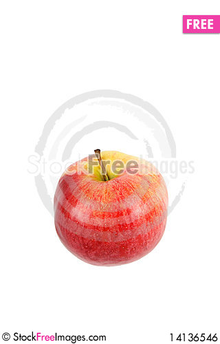Free Red Apple Royalty Free Stock Image - 14136546