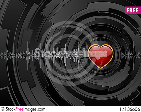 Free Abstract Futuristic Background Royalty Free Stock Image - 14136606