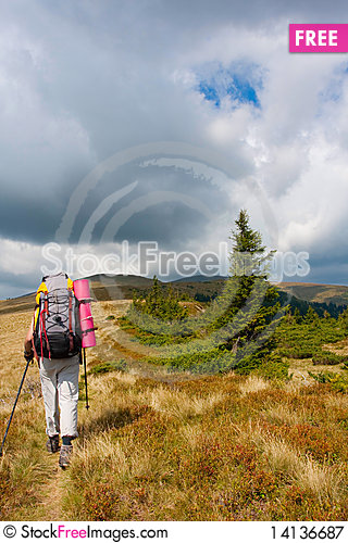 Free Hiking Royalty Free Stock Photography - 14136687