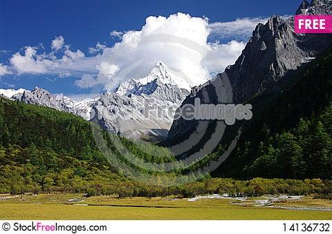 Free Mountain Yangmaiyong Stock Photography - 14136732